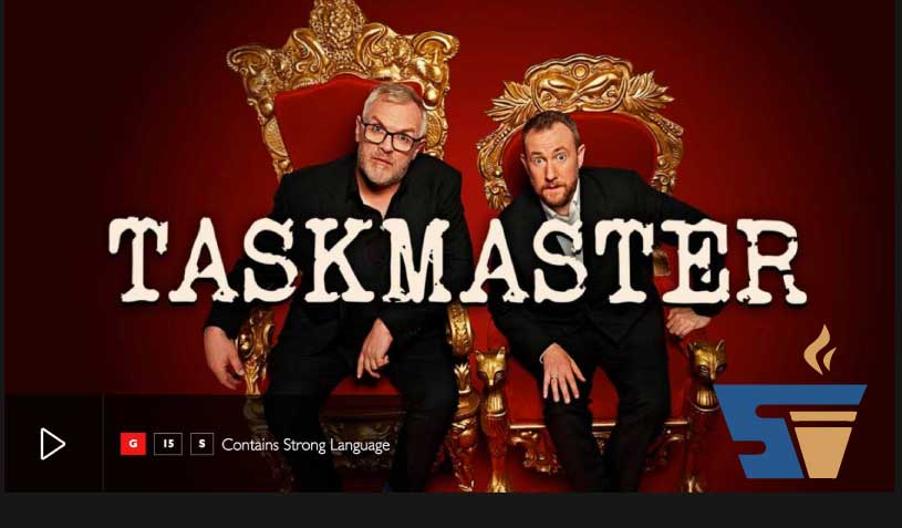 Strong Vend get a mention on TASKMASTER